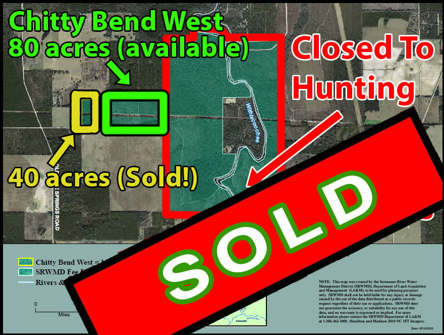 Chitty Bend West Hunting Property